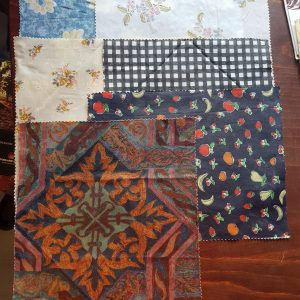 vintage patterns cotton beeswax wraps