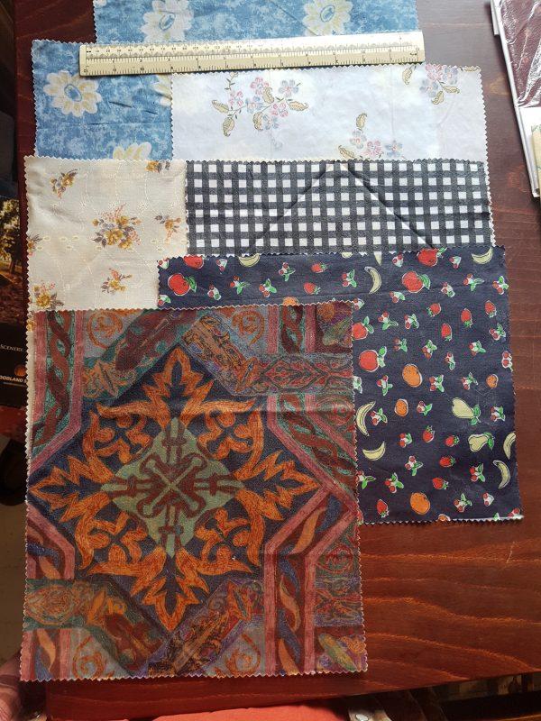 vintage patterns cotton beeswax wraps
