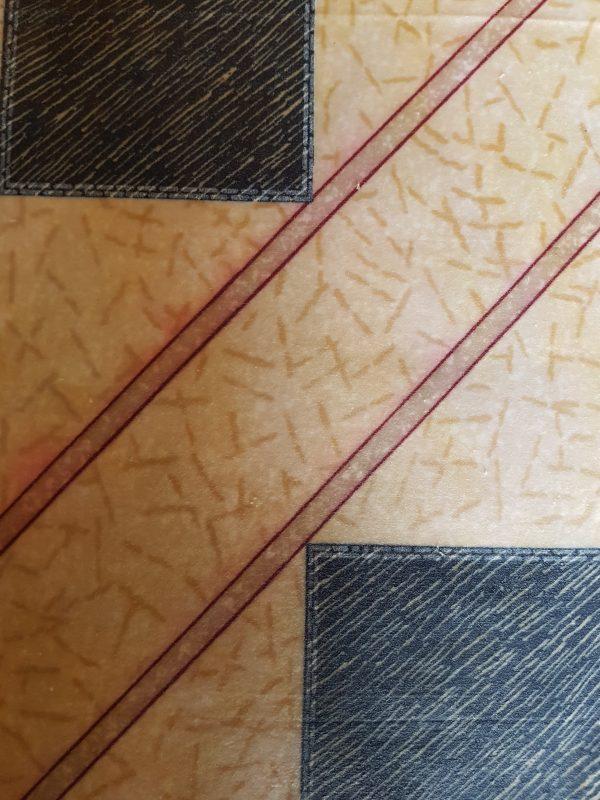 geometric fawn grey beeswax wraps
