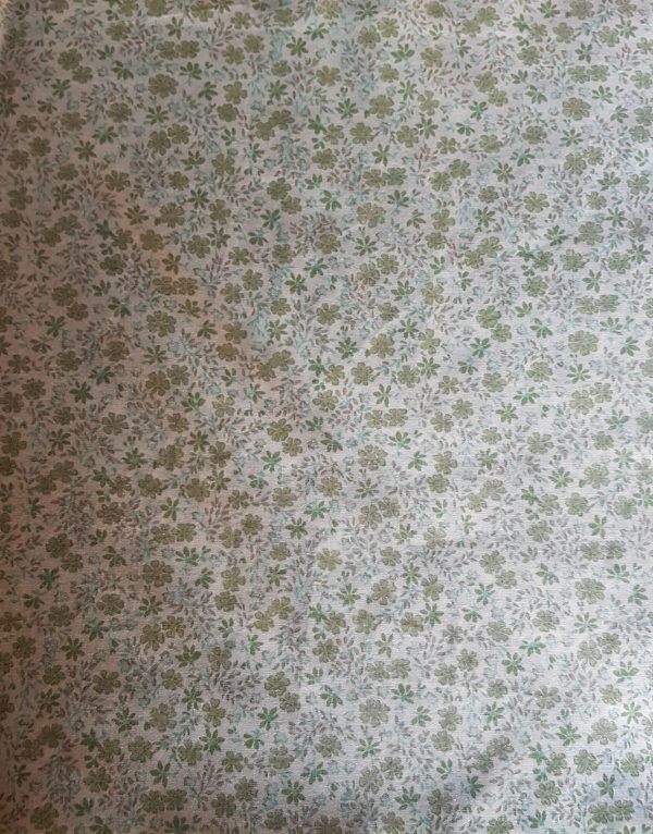 small green flowers beeswax wraps